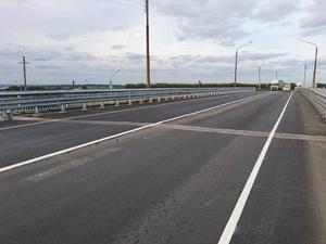 Завершился ремонт путепровода через М-7 в Кстовском районе