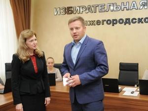 Артему Баранову выдано удостоверение депутата Заксобрания Нижегородской области