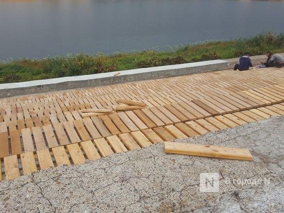 Основные работы на набережной Гребного канала завершатся в сентябре - фото 5